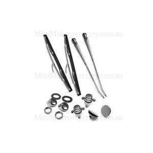 Mini & Moke Wiper & Brightwork Kit (LHP)-2