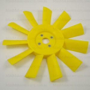 Mini & Moke Plastic Yellow Blade Fan-01