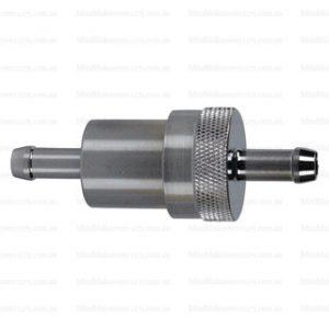 6mm Barb Fuel Filter 100 Micron Billet