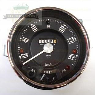 Mini & Moke 140kph Speedometer