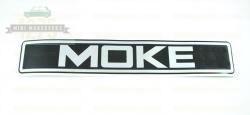 Moke Large Front Sticker
