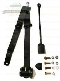 Moke Front APV Lap sash 450mm Stalk Retractable Seat Belt