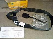 Moke Front Lap Sash Seat Belt Non Retractable 400mm Stalk