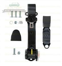 Mini & Moke Front Lap Sash Retractable Seat Belt (Adjustable Stalk) -1