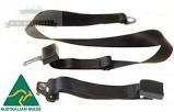 Mini & Moke Rear Lap Seat Belt - Adjustable Stalk