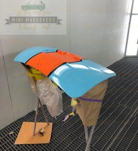 car bonnet 2 color