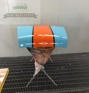 Mini & moke car bonnet