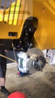 Front moke wheel setup