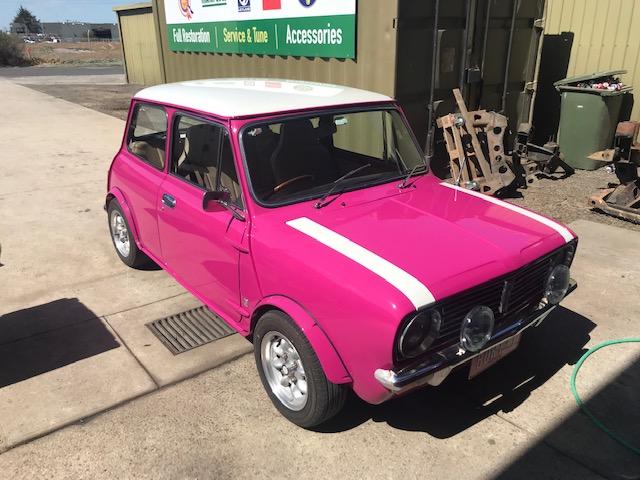 Pink mini